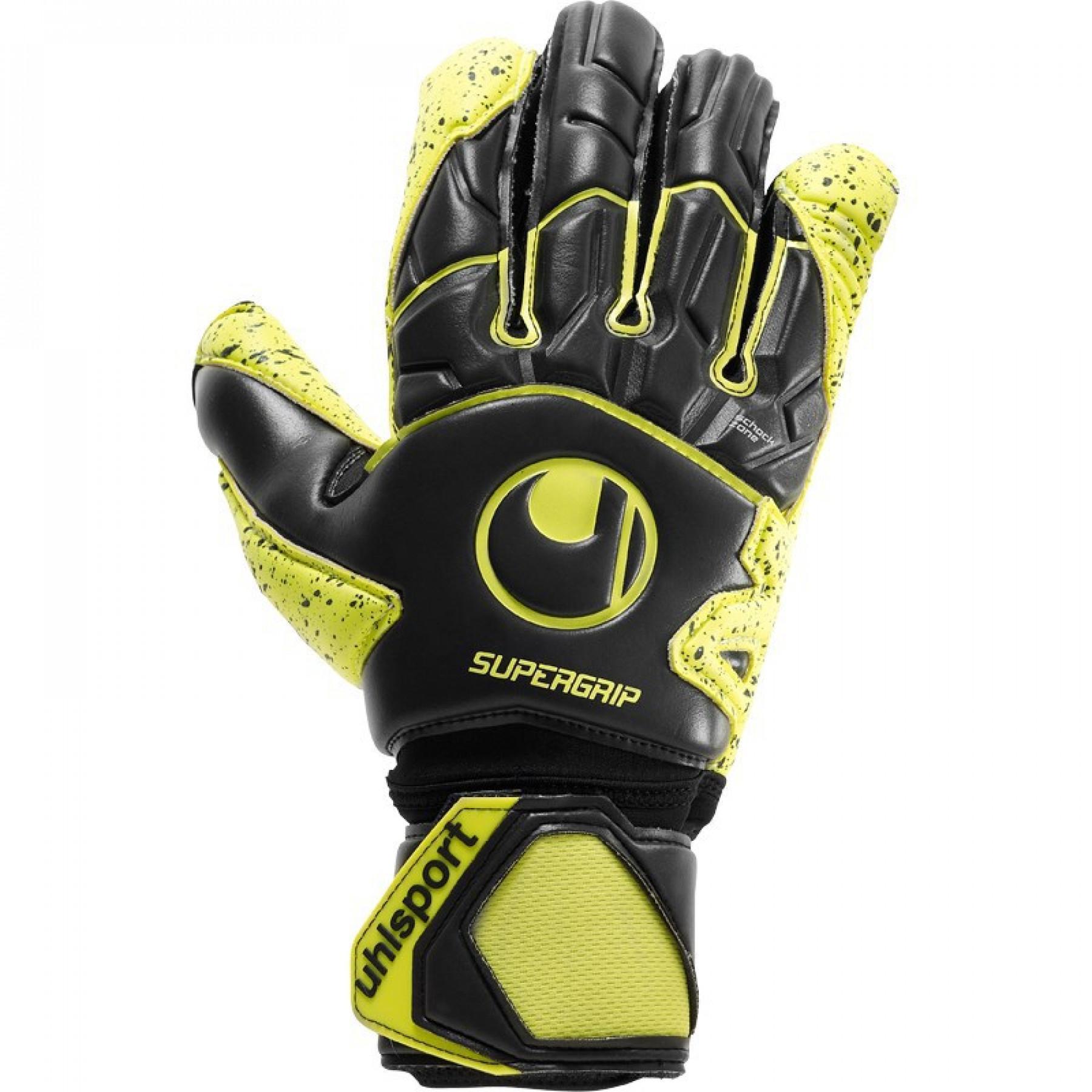 Guanti Uhlsport Supergrip Flex Frame Carbon Goalie Gloves