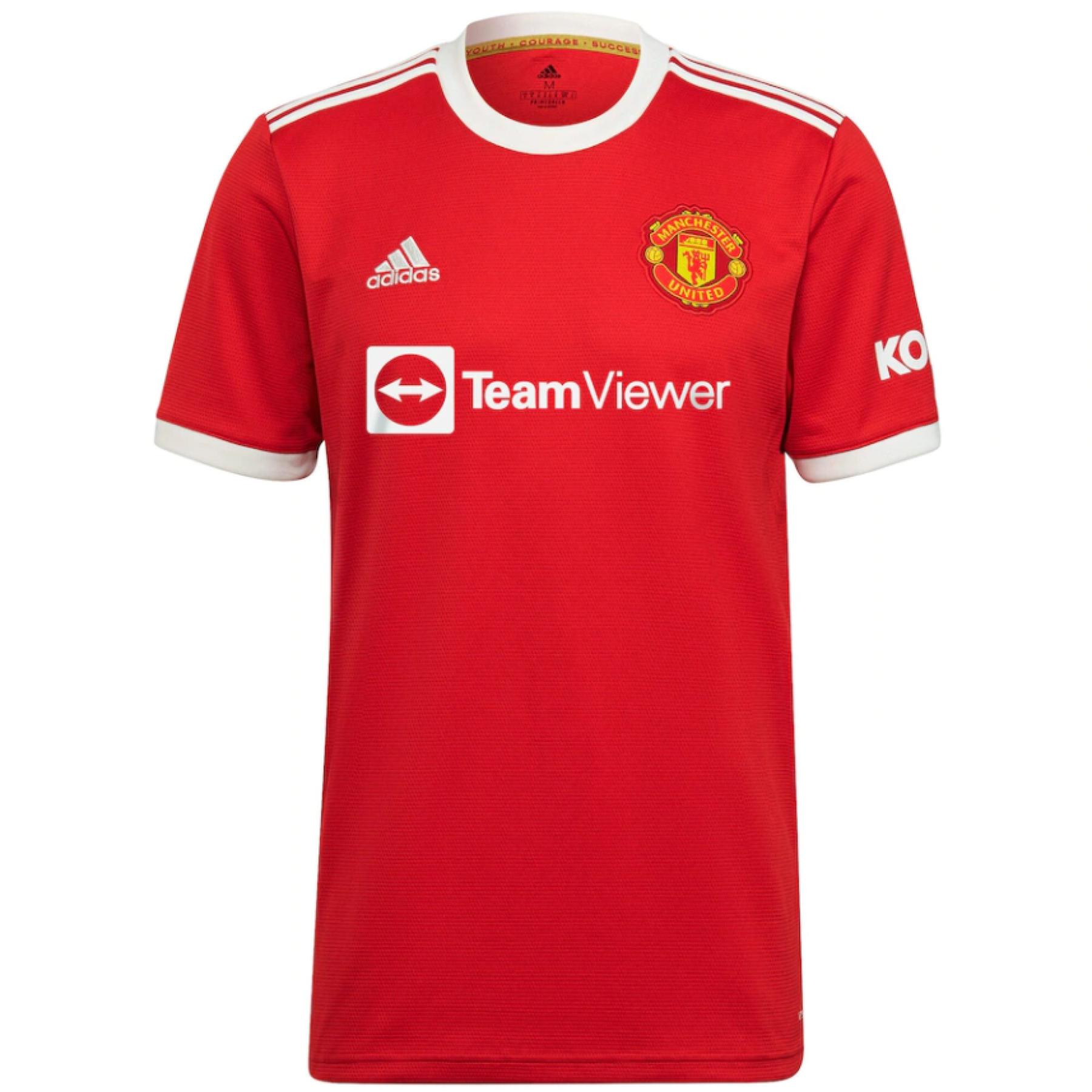 Maglia per la casa Manchester United 2021/22