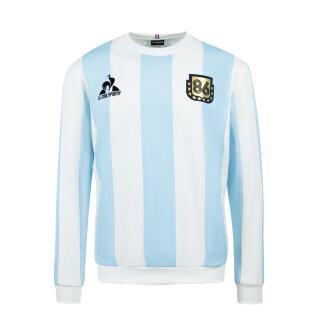 Felpa Le coq sportif retro Argentine 1986 Collection Legends Maradona