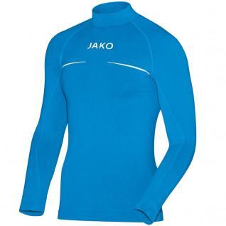 Maglia junior jako jersey con collo alto Comfort maniche lunghe