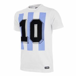 T-shirt numero 10 Argentine retro