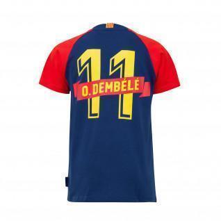 Maglietta Junior Barcelona Dembélé