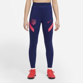 Pantaloni da allenamento per bambini atlético de madrid 2021/22