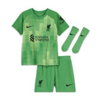 Abbigliamento bambino gardien Liverpool FC 2021/22