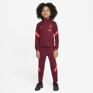 Tuta per bambini Liverpool FC Dynamic Fit Strike 2021/22