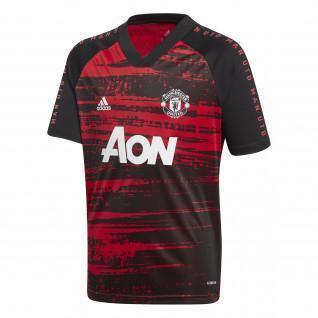 Maglia di riscaldamento del Manchester United 2020/21