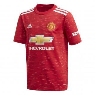 Maglietta casa del Manchester United Junior 2020/21