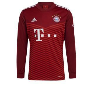 maglia a maniche lunghe fc home Bayern Munich 2021/22