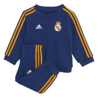 Tuta de Tuta per bambini Real Madrid 2021/22 3-Stripes