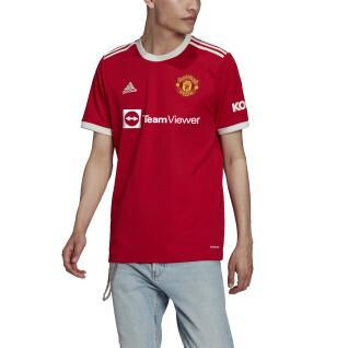 Maglia home del Manchester United 2021/22