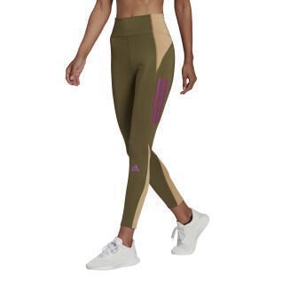 Legging da donna adidas Own The Run Block 7/8 Running