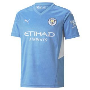 maglia home del manchester city 2021/22